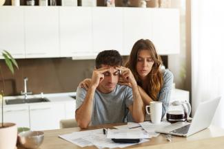 We Can Help Manage Financial Stress